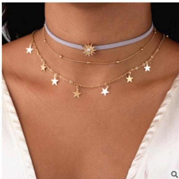 Jewelry - Star layered Necklace